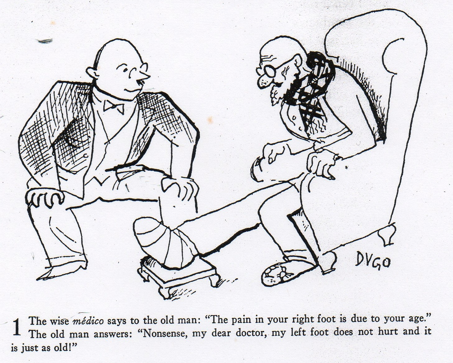 comic from Martin Fischer's Death & Dentistry