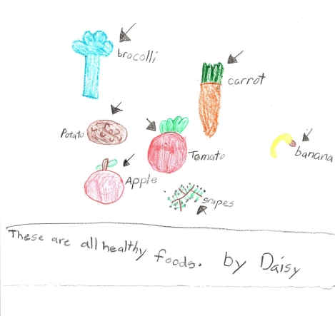 These Are All Healthy Foods by Daisy