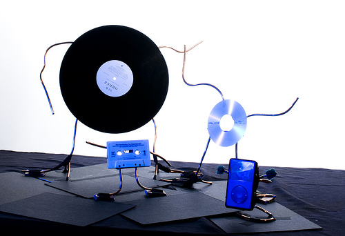 Recorded music formats
